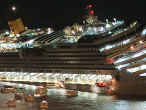 Costa Concordia claim for damages